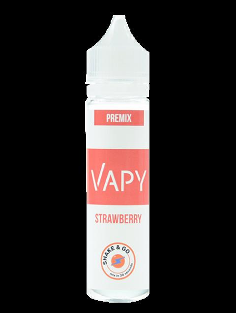 VAPY Premix - Strawberry 40ml